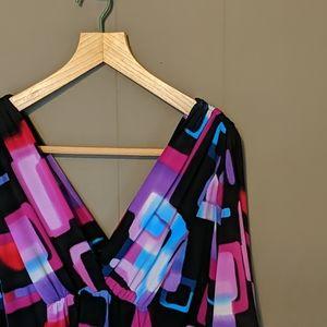 Studio Y short butterfly sleeve dress Sz S